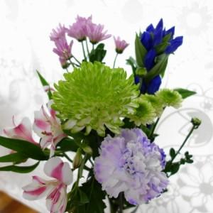 おしゃれな仏花